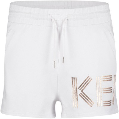 Picture of Kenzo KN26038 kids shorts white