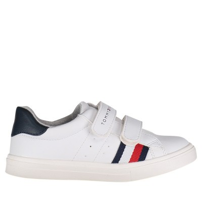 Picture of Tommy Hilfiger 30303 kids sneakers white