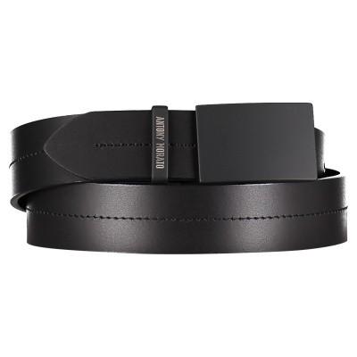 Picture of Antony Morato MMBE00348 mens belt black