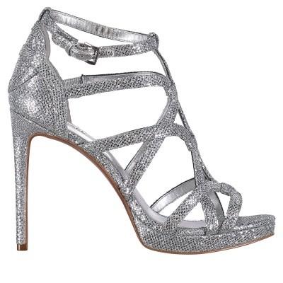Afbeelding van Michael Kors 40T8SNHA1D dames sandalen zilver