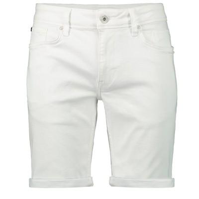 Afbeelding van Pure White THE STEVE W0316 heren shorts wit