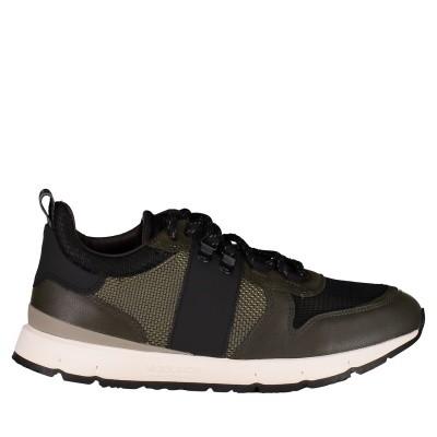 Afbeelding van Woolrich W300140 heren sneakers army
