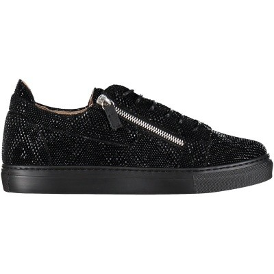 Picture of Guiseppe Zanotti SBE8 kids sneakers black