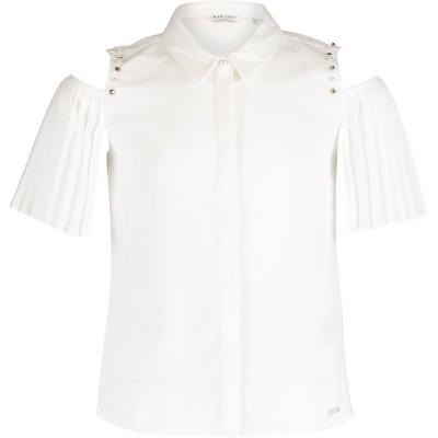 Afbeelding van Guess J91H15 kinder overhemd off white