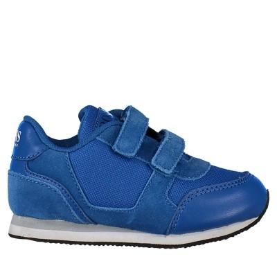 Afbeelding van Boss J09105 kindersneakers cobalt blauw