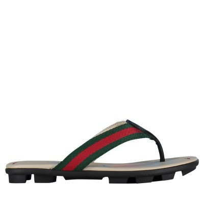 Picture of Gucci 501074 kids flipflops black