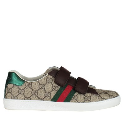 Picture of Gucci 463091 kids sneakers brown