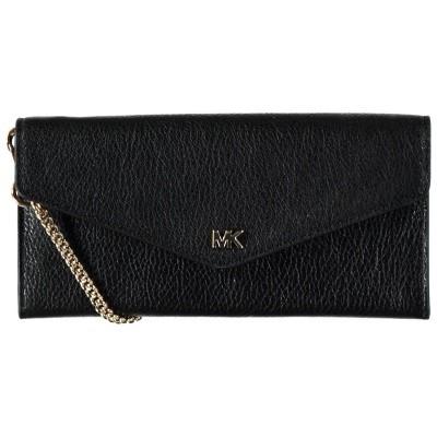 Afbeelding van Michael Kors 32H8Gf6C7T dames portemonnee zwart