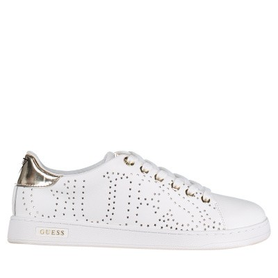 Picture of Guess FL5CRTLEA12 womens sneakers white
