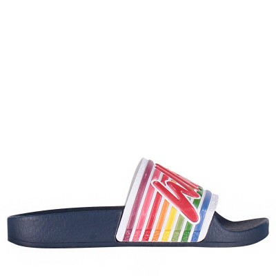 Picture of The White Brand K0110 kids flipflops navy