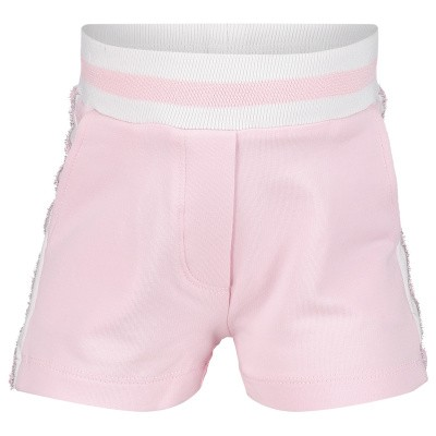 Picture of MonnaLisa 393412R8 baby shorts light pink