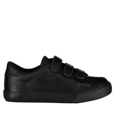 Picture of Ralph Lauren RF100708B kids sneakers black