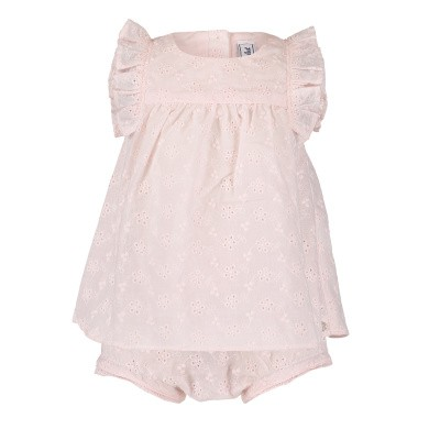 Afbeelding van Tartine et Chocolat TN37031 babysetje licht roze