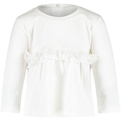 Afbeelding van Liu Jo H68072 baby t-shirt off white