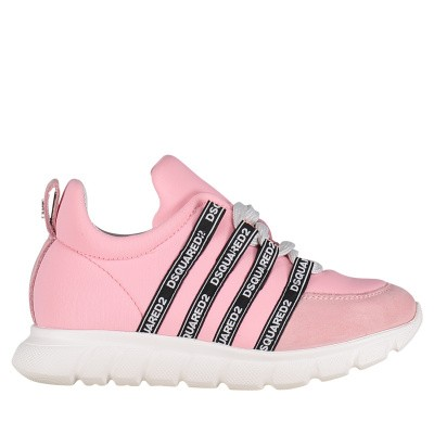 Picture of Dsquared2 59827 kids sneakers light pink