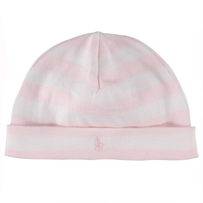 Picture of Ralph Lauren 734943 baby hat light pink