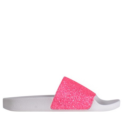 Picture of The White Brand K0146 kids flipflops fluoro pink