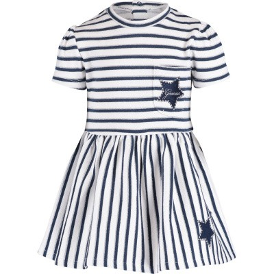 Picture of Guess A91K08 baby dress white