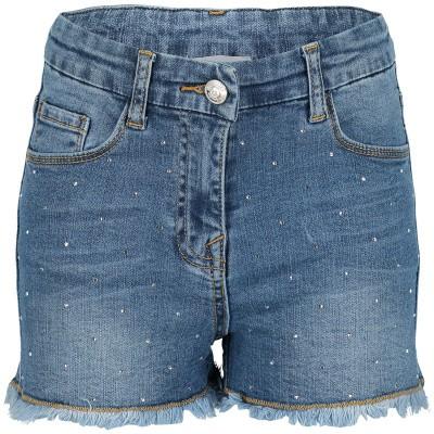 Afbeelding van MonnaLisa 173401A7 kinder shorts jeans