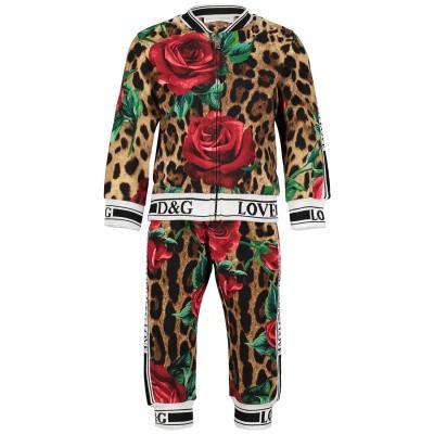 Afbeelding van Dolce & Gabbana L2JY06 baby joggingpak panter