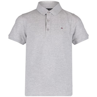 Picture of Tommy Hilfiger KB0KB04527 kids polo shirt grey
