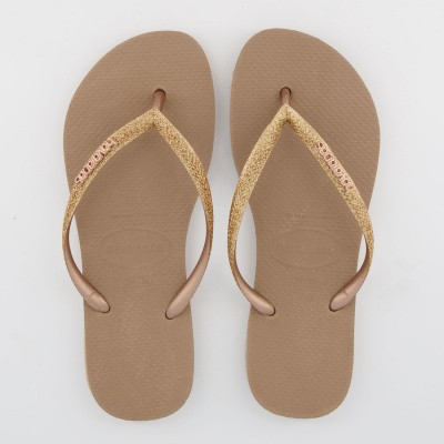 Picture of Havaianas 4143975 womens flipflops rose gold