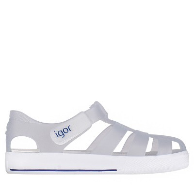 Picture of Igor S10171 kids sandals transparent