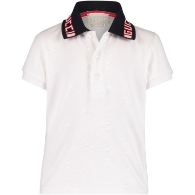 Afbeelding van Gucci 522346 baby polo wit
