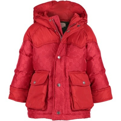 Picture of Gucci 512273 baby coat red