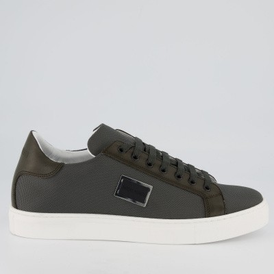 Picture of Antony Morato MMFW01117 mens sneakers army
