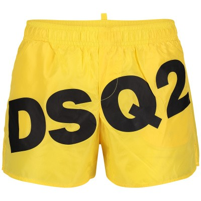 Photograph of Dsquared2 DQ03BK kids swimwear yellow