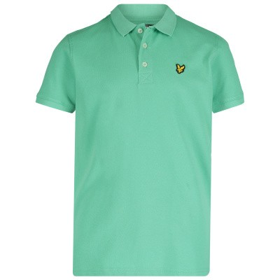Picture of Lyle & Scott LSC0145S kids polo shirt green