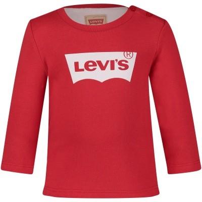 Afbeelding van Levi's NM10104 baby t-shirt rood