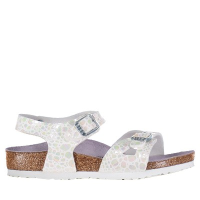 Picture of Birkenstock 1008197 kids sandals white
