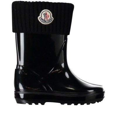 Picture of Moncler 0048500 kids boots black