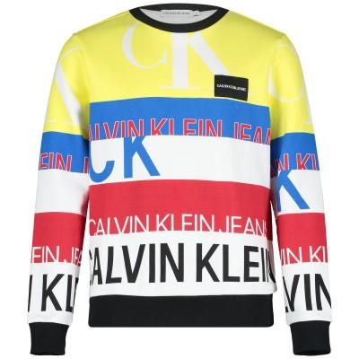 Afbeelding van Calvin Klein IB0IB00117 kindertrui wit