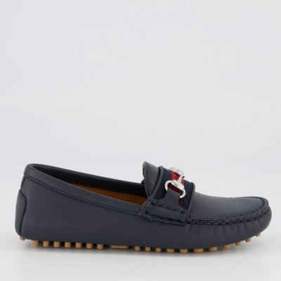 Picture of Gucci 552939 kids shoes navy
