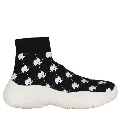 Afbeelding van Reinders VES19W3000 dames sneakers zwart