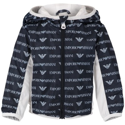 Picture of Armani 3GHB11 baby coat navy