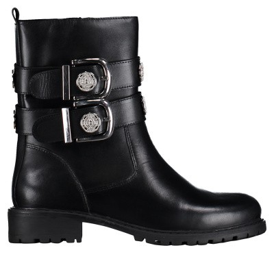 Picture of Nikkie N9866 mens boots black
