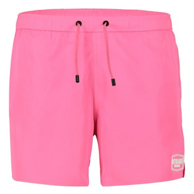 Picture of My Brand MMBSS003 mens swimshorts fluoro pink