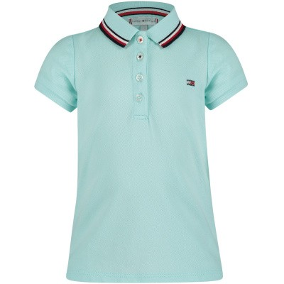 Picture of Tommy Hilfiger KG0KG04222 B baby poloshirt mint