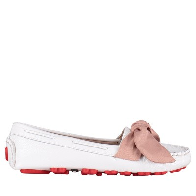 Picture of Moschino JA10030 womens shoes white