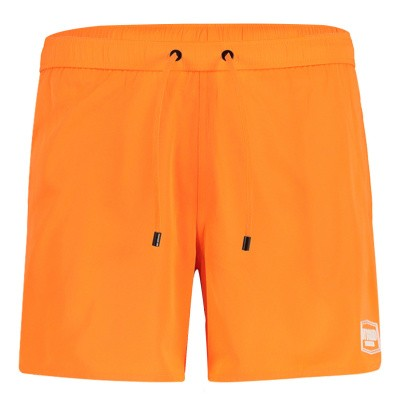 Picture of My Brand MMBSS003 mens swimshorts fluoro orange