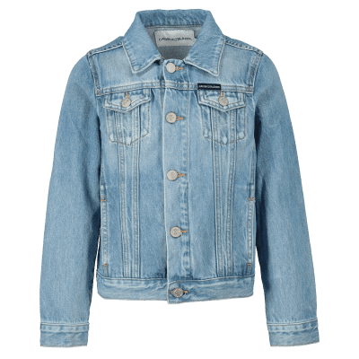 Afbeelding van Calvin Klein IG0IG00088 kinderjas jeans