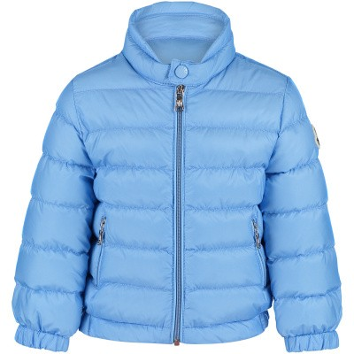 Picture of Moncler 4138799 baby coat light blue