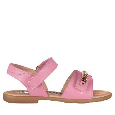Picture of Moschino 0010502521 kids sandals light pink