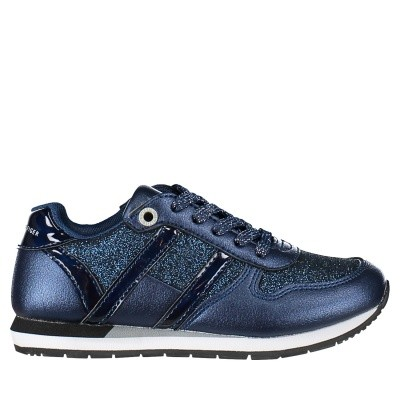 Picture of Tommy Hilfiger T3A430013 kids sneakers navy