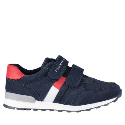 Picture of Tommy Hilfiger T1B430075 kids sneakers navy