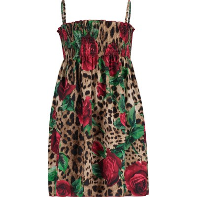 Picture of Dolce & Gabbana L5JD0G kids dress panther